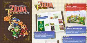 Chollo Libro guía The Legend of Zelda: Tri Force Heroes Collector's Edition
