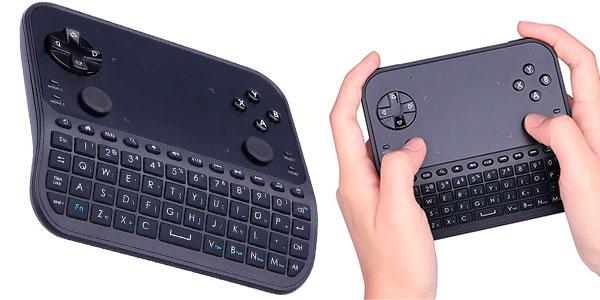 Chollo Mini teclado Gakov GAU6 inalámbrico con gamepad