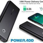 Chollo Powerbank Poweradd EnergyCell con USB-C de 20.000 mAh
