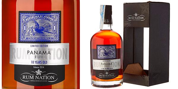 Chollo Ron Nation Panama 18 Años de 700 ml