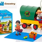 Chollo Set Picnic con Poni y Carro de Playmobil con 3 figuras