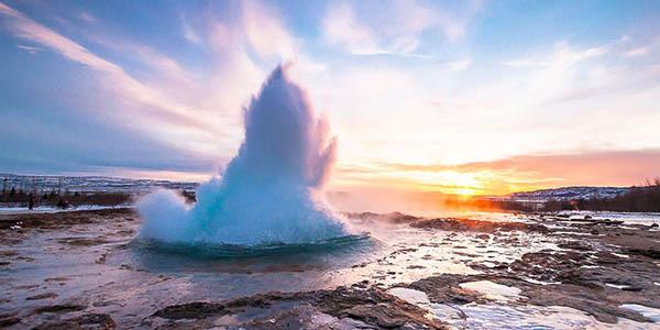 circuito organizado por Islandia con alojamiento económico en Reykjavik