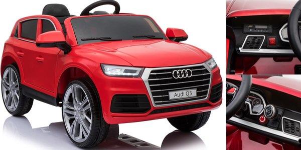 Coche eléctrico infantil Audi