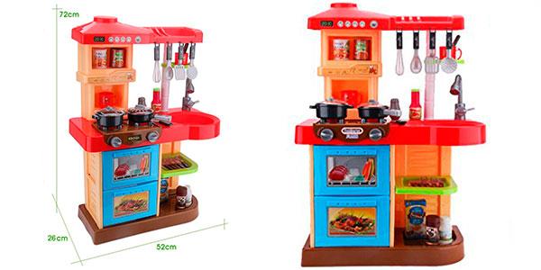 Cocinita de juguete My Little Chef con 30 accesorios barata