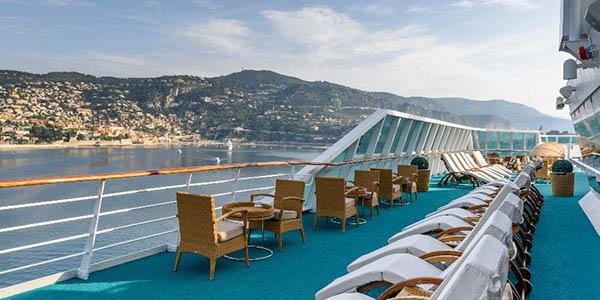 crucero mediterráneo por Francia e Italia en primavera chollo