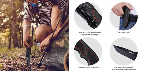 Cuchillo plegable Tacklife FK03 chollo en Amazon