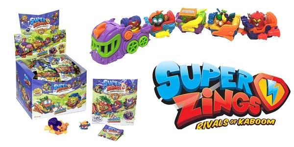 Display 24 Figuras +AeroWagons Superzings Serie 5 (Colección completa) barato