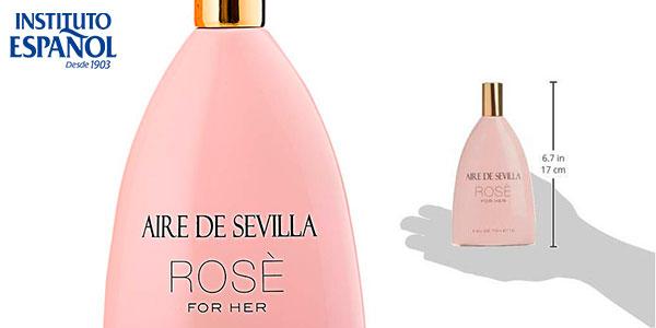 Eau de toilette Aire de Sevilla Edición Rosè para mujer de 150 ml barata