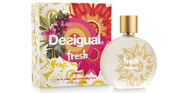 Eau de Toilette Desigual Fresh Vaporisateur Natural Spray 100 ml mujer barato en Amazon