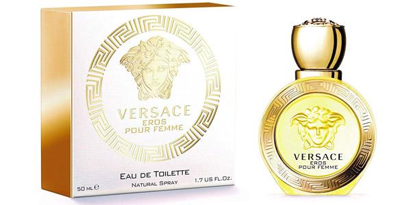 Eau de Toilette Versace Eros pour Femme de 50 ml barato en Amazon