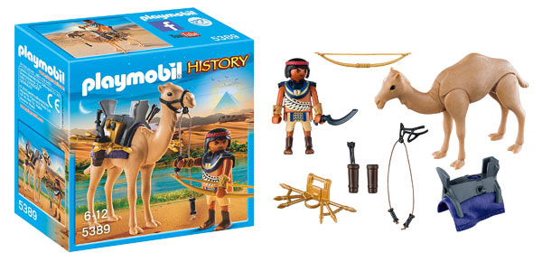 Egipcio con Camello de Playmobil History (5389) barato en Amazon
