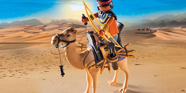 Egipcio con Camello de Playmobil History (5389) chollo en Amazon