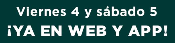Fechas sin IVA Corte Inglés