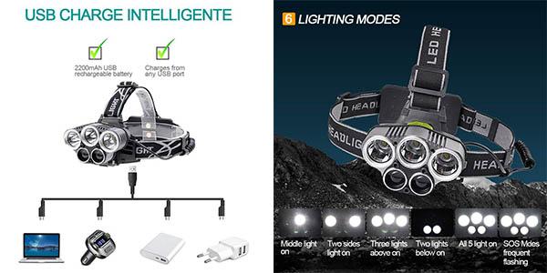 frontal LED Beteck relación calidad-precio estupenda
