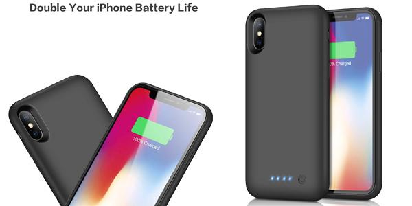 Funda con batería Kilponen para iPhone barata en Amazon