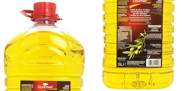 Garrafa Aceite de oliva suave Gourmet de 5 litros barata en Amazon