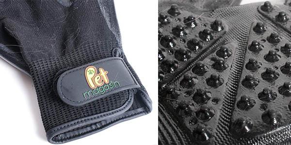 guantes para masaje quitapelos mascotas Pet Magasin oferta