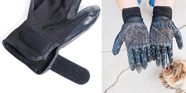 guantes quitapelos para gatos y perros Pet Magasin chollo