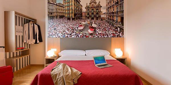Hostal Pamplona chollo alojamiento