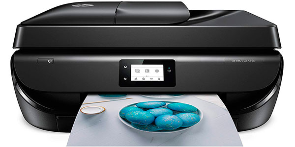 Impresora HP Officejet 5230 multifunción inalámbrica con Wi-Fi barata