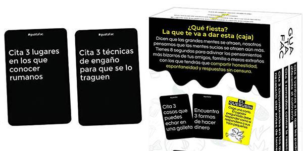 juego de cartas Guatafac chollo