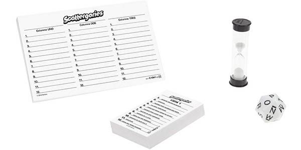 juego de mesa Scattergories de creación de palabras oferta