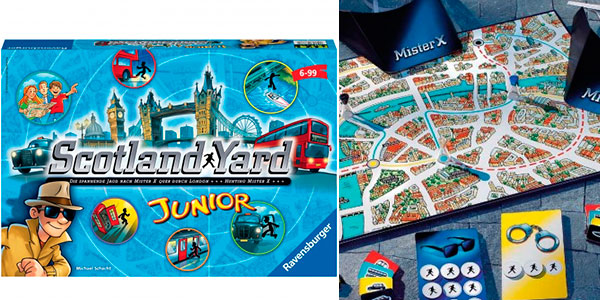 Chollo Juego Scotland Yard Junior