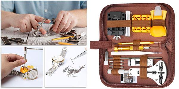 Kit Reparación Relojes E-Durable de 149 piezas barato en Amazon