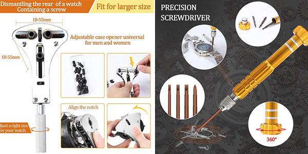 Kit Reparación Relojes E-Durable de 149 piezas chollo en Amazon