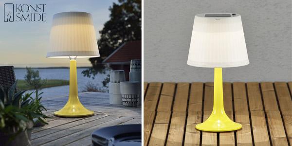 Lámpara LED de mesa Solar Assisis Konstsmide chollo en Amazon