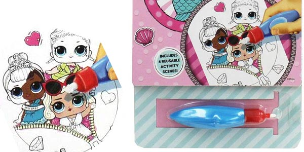 Libreta de actividades LOL Surprise Aqua Magic de Alligator Books chollo en Amazon