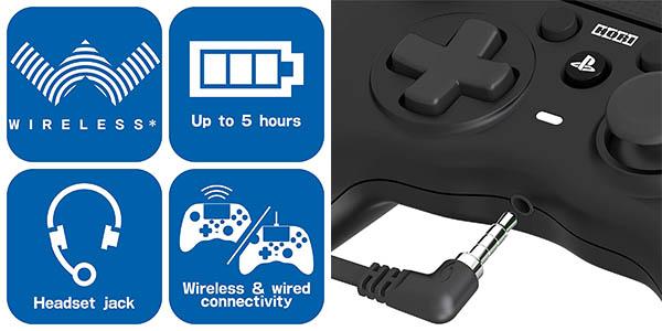 Mando Hori Onyx Plus para PS4 y PC en Amazon