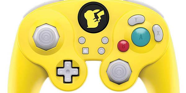 Mando PDP Smash Pad Pro Pikachu con cable barato