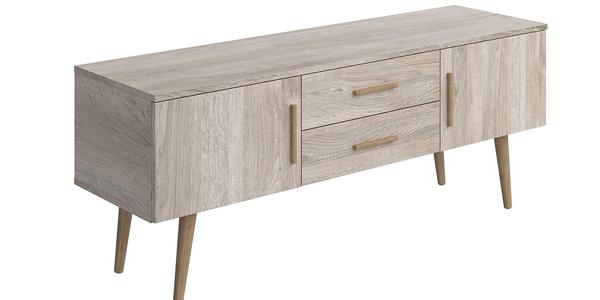 Mueble para TV Movian Adour Scandinavian de 2 puertas con 2 cajones barato en Amazon
