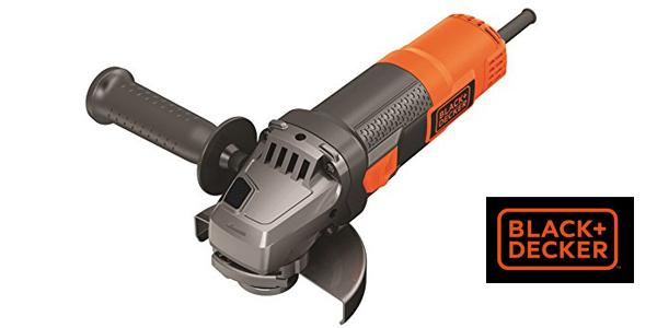 Mini Amoladora BLACK+DECKER BEG210-QS de 115 mm barata en Amazon