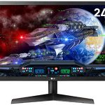 "Monitor gaming LG 24GL600F-B de 24"" Full HD 144 Hz"