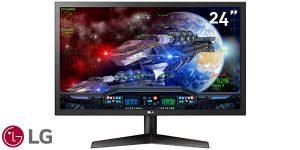 """Monitor gaming LG 24GL600F-B de 24"""" Full HD 144 Hz"""
