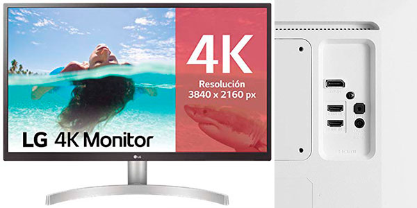 "Monitor LG 27UL500-W UHD 4K de 27"" barato"