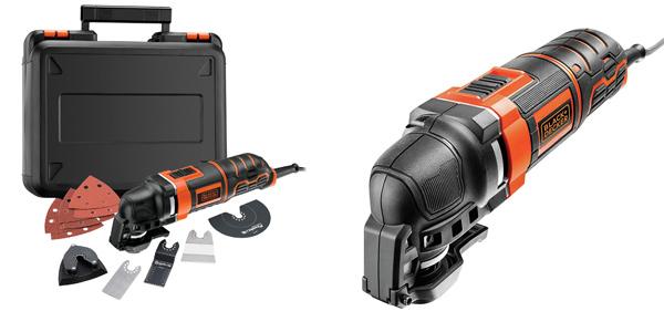 Multiherramienta oscilante Black+Decker MT300KA-QS con 11 accesorios + maletin barata en Amazon