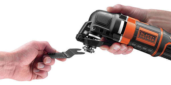 Multiherramienta oscilante Black+Decker MT300KA-QS con 11 accesorios + maletin chollo en Amazon