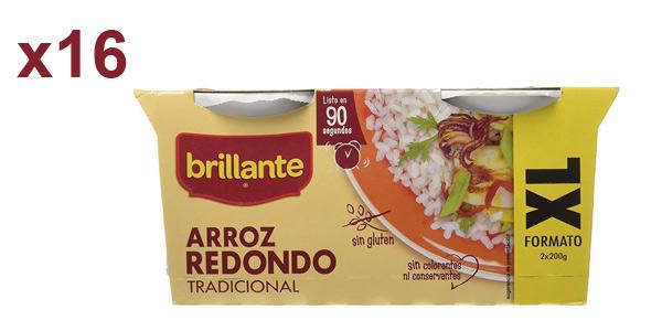 Pack de 16 vasitos XL Brillante Arroz Redondo barato en Amazon