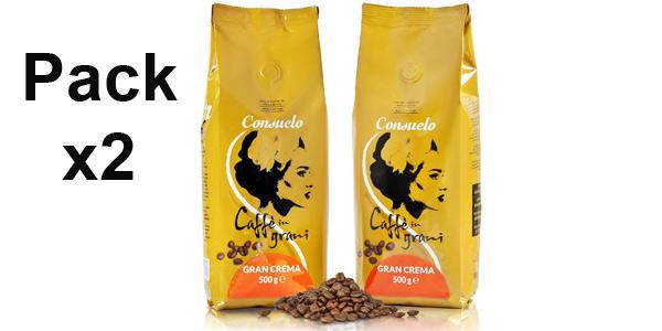 Pack x2 Café Consuelo Gran Crema de 500 gr/ud barato en Amazon