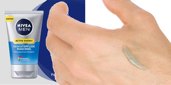Pack x2 Nivea Men Active Energy Gel de Cuidado Facial de 100 ml chollo en Amazon
