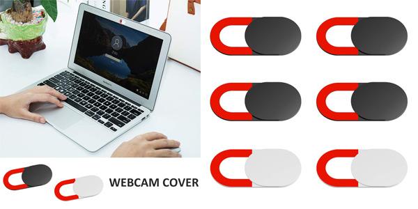 Pack x6 Tapas para webcam Kiwi Design barato en Amazon
