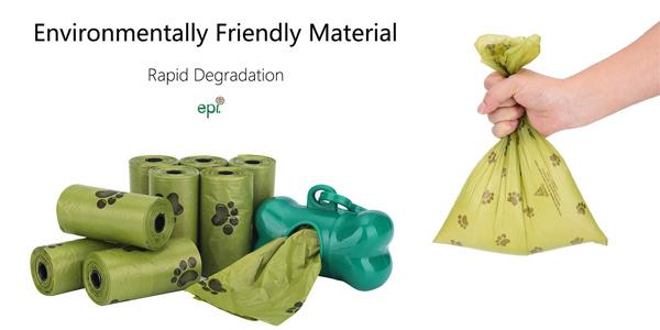 Pack x600 Bolsas biodegradables para excrementosde perros con dispensador chollo en Amazon