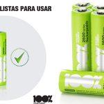 Pack 8 x Pilas Recargables 100% PeakPower 2600 Series AAA barato en Amazon