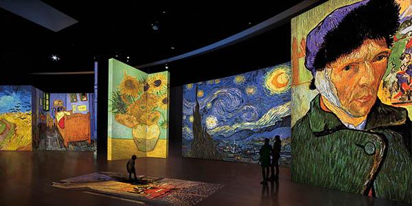 Pamplona alojamiento barato con entradas a exposición Van Gogh Alive