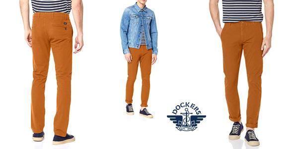 Pantalones vaqueros Dockers Smart 360 Flex Alpha Skinny para hombre baratos en Amazon