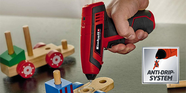 Pistola termofusible recargable Einhell TC-CG 3,6/1 Li chollo en Amazon
