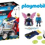 Playmobil The Real Ghostbusters Spengler (9386) con Coche Jaula y Lanzador de Discos barato en Amazon